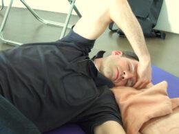 Alex im Seminar Empathie über Körper und Bewegung erfahren