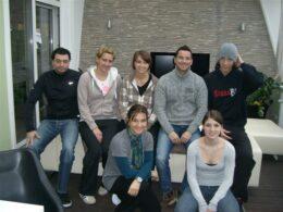 Gruppenfoto Planet-Team